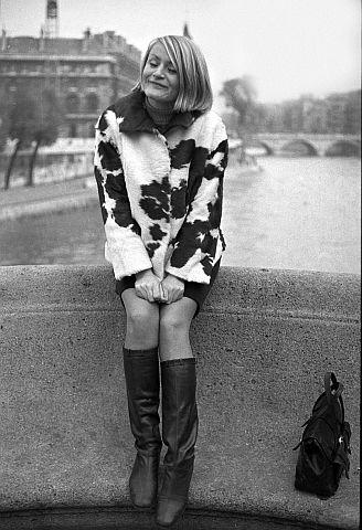 In Paris auf der Pont Royal, fotografiert von Bruno.