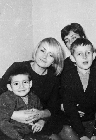 Als Au-Pair mit Patrick, Jean François & Yvonne.