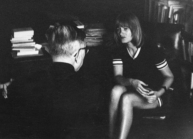 """Gespräch mit Sartre über """"Revolutionäre Gewalt""""."""