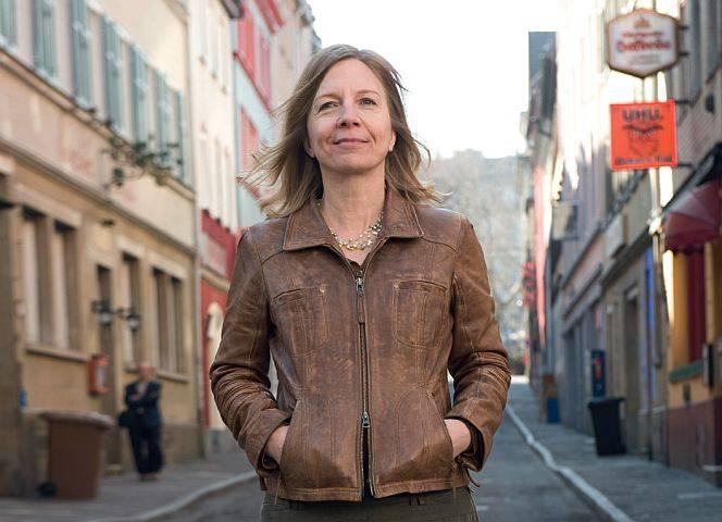 Sabine Constabel, Streetworkerin in Stuttgart. - © B. Flitner