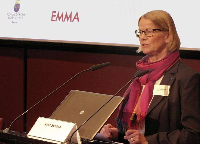 Justizkanzlerin Anna Skarhed räumte auf mit den Mythen zum schwedischen Prostitutionsgesetz.