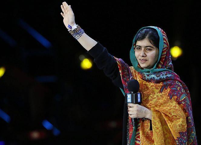 Malala Yousafzai: Kämpferin für das Recht auf Bildung. - © Reuters/Luke MacGregor
